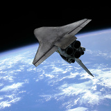 Buy Artist's Concept of a Space Shuttle Entering Earth Orbit at AllPosters.com