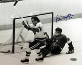 Bob Nystrom Game Winning Goal Celebration Autographed Photo (Hand Signed Collectable)