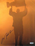 Mark Messier Oilers Retirement Night Home Run Autographed Photo (Hand Signed Collectable)