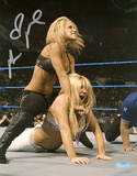 Michelle McCool Autographed WWE Action Photograph