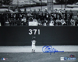 Cleon Jones Autographed Last Out Horizontal Photograph