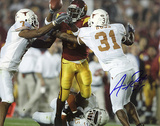 Aaron Ross Autographed University Of Texas Photograph