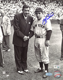 Yogi Berra Autographed With Babe Ruth Photograph