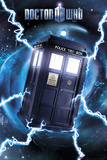 Doctor Who-Tardis- Metallic Poster