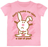 Toddler: Happy Bunny - Don't Make Me Open