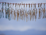 Souvenir Dream Catchers Against the Sky