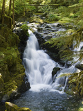 Waterfalls of Sol Duc River, Olympic National Park, Washington