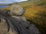 Bubble Rock, a Perfect Example of a Glacial Erratic