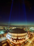 SUPER BOWL: NEW ORLEANS, LOUISIANA - The Louisiana Superdome