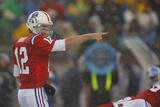 Titans Patriots Football: Foxborough, MA - Tom Brady