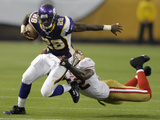 49ers Vikings Football: Minneapolis, MN - Adrian Peterson