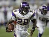 Vikings Lions Football: Detroit, MI - Adrian Peterson