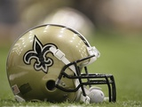 Saints Football: Metairie, LOUISIANA - New Orleans Saints Helmet