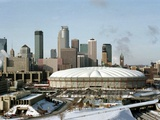 Minnesota Vikings--Hubert H. Humphrey Metrodome: MINNEAPOLIS, MINNESOTA - The Hubert H. Humphrey Me