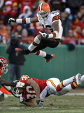 APTOPIX Browns Chiefs Football: Kansas City, MO - Josh Cribbs