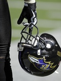 Chiefs Ravens Football: Baltimore, MD - Baltimore Ravens Helmet