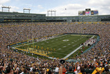 Bengals Packers Football: Green Bay, WI - Lambeau Field Panorama