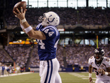 Broncos Colts Football: Indianapolis, IN - Dallas Clark
