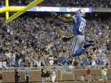 Packers Lions Football: Detroit, MICHIGAN - Calvin Johnson