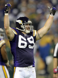 Vikings Allens Pressure Football: Minneapolis, MN - Jared Allen