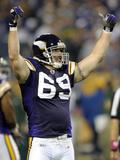 Vikings Allens Pressure Football: Minneapolis, MN - Jared Allen