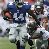 Giants Buccaneers Football: Tampa, FL - Ahmad Bradshaw