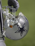 Cowboys Camp Football: San Antonio, TEXAS - A Dallas Cowboys Helmet