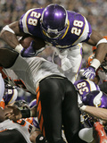 APTOPIX Bengals Vikings Football: Minneapolis, MN - Adrian Peterson