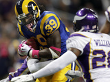 Vikings Rams Football: St. Louis, MO - Steven Jackson