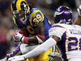 Vikings Rams Football: St. Louis, MO - Steven Jackson