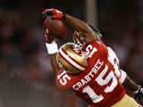 Bears 49ers Football: San Francisco, CA - Michael Crabtree