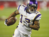 Vikings Cardinals Football: Glendale, AZ - Percy Harvin
