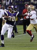 49ers Vikings Football: Minneapolis, MN - Adrian Peterson