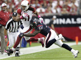 Texans Cardinals Football: Glendale, AZ - Larry Fitzgerald