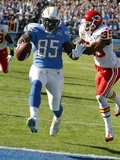 Chiefs Chargers Football: San Diego, CA - Antonio Gates,