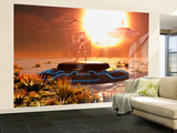 A Distant Alien World That Orbits Close to its Sun Wall Mural – Large