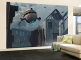 Space Probes and Androids Survey an Ancient Civilization Wall Mural – Large