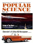 Front cover of Popular Science Magazine: November 1, 1950