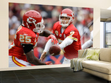 Chiefs Redskins Football: Landover, MD - Matt Cassel and Jamaal Charles