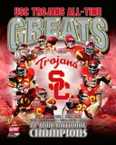 USC Trojans All Time Greats Composite