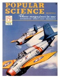 Front cover of Popular Science Magazine: February 1, 1940