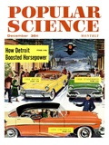 Front Cover of Popular Science Magazine: December 1, 1950