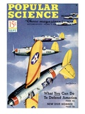 Front cover of Popular Science Magazine: September 1, 1940