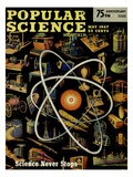 Front cover of Popular Science Magazine: May 1, 1947