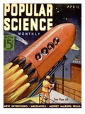 Front Cover of Popular Science Magazine: April 1, 1930