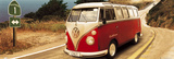 VW Camper-Route One Door Poster