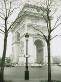 Arc de Triomphe and Place Charles de Gaulle in Paris