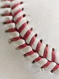 Lacing on Baseball