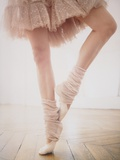 Ballet Dancer Tiptoeing