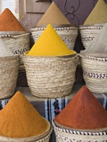 Baskets of Spices for Sale
